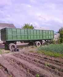Прицеп сзап - 83053 трехосный зерновоз