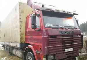 Scania 112, борт бдф, борт тент