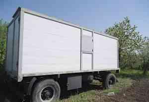 Прицеп-фургон изотермический (Передвижная бытовка)