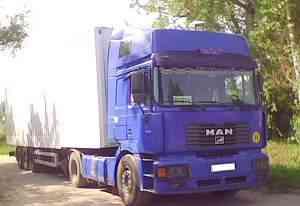 MAN Командор 19.464 тягач с полуприцепом