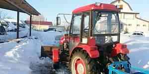 Трактор TS 254 отличный помощник в уборке снега