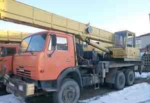 Автокран Камаз Ивановец 25 тонн 2006 г