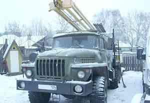 Буровая установка урб 2А2 на базе Урал 4320