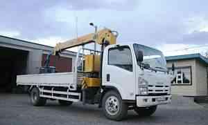 грузовик бортовой с манипулятором