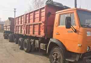 Камаз 55102 зерновоз самосвал сельхозник