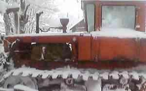 гусеничный трактор дт-75Б