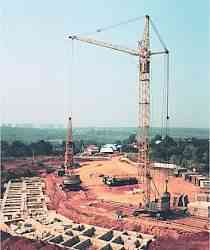 кран башенный кб-405-1А