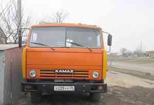 Камаз 55102 самосвал-сельхозник с прицепом