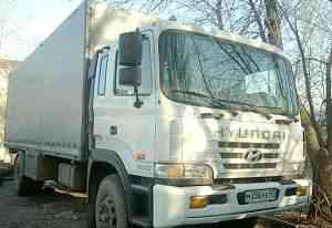 HD170 Hyundai длинная база 10 т. фургон 44 куб