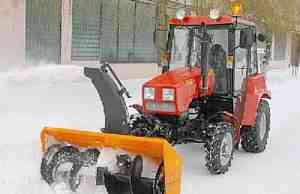 Снегоочиститель ст-1500 на мтз-320