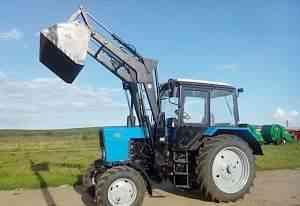 Трактор Беларус 82.1 с погрузчиком опн-1000