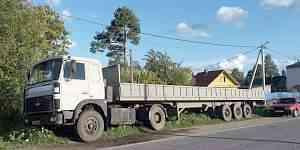 Полуприцеп бортовой маз 13.6 м