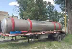 Полуприцеп цистерна из нержавеющей стали