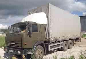 Камаз фургон-тент 48 кубов, 10 тонник