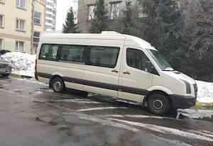 Микроавтобус на 18 мест Volkswagen Crafter