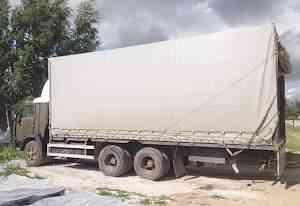 Тентованный камаз, 10 тонн, кузов 7.3 м., 48 кубов