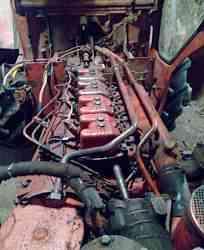 трактор Т-40 с телегой