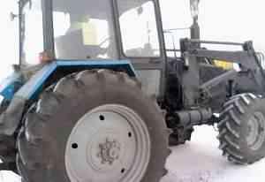 Трактор Беларус- 1221.2 (мтз-1221) + кун 1200кг