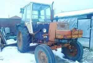 Трактор юмз-6 + телега