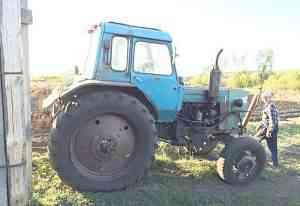 трактор мтз-82 с навесным оборудованием
