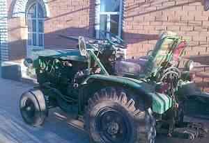 Самодельный трактор Плуг