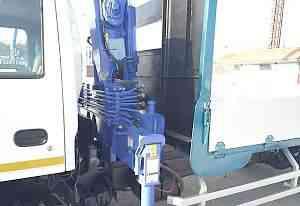 Эвакуатор с манипулятором isuzu NQR 75