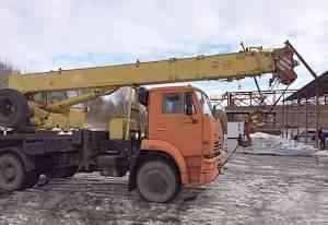 Автокран Ивановец кс 35714К-3 на базе камаз