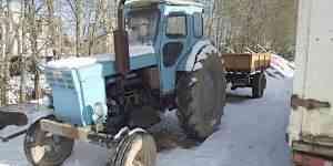 Трактор Т-40+ телега одноосная самосвальная 2 т
