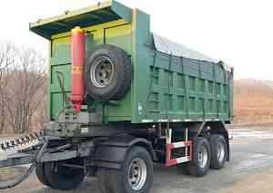 самосвальный прицеп 2шт. 30 тон. 21 м3 Fuwa