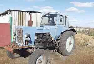 Трактор мтз-80 и сельхозтехника