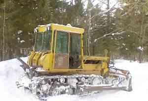 трактора-бульдозеры Т-40м, дт-75мл, мтз-80