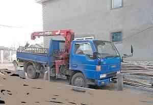 грузовик с манипулятором 4вд