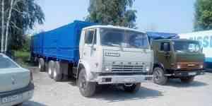 Камаз 53212 зерновоз с прицепом