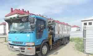 грузовик с манипулятором Hino Profia