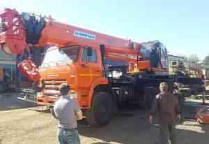Автокран 40 тон вездехода камаз Клинцы 34 м Овоид