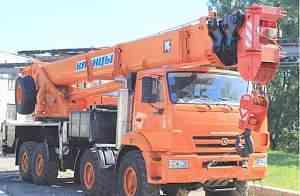 Клинцы 40 тон 65719-3К вездеход стрела 34 метра
