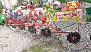 Грабли-ворошилка 5-колесные