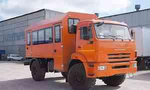 Вахтовый автобус на шасси Камаз 43502