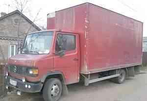 мебельный фургон Мерседес 814D