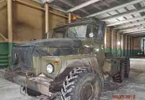 Седельный тягач Урал 4320