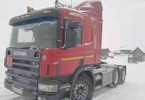 Тягач Скания (Scania) P340 6Х4 2007г