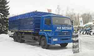 Зерновоз самосвал камаз 68902с (метан)