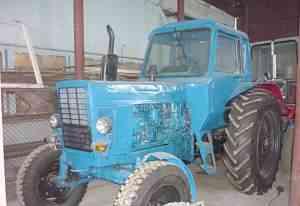 Трактор мтз-80Л с малой кабиной после ремонта