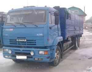 Камаз 65117. евро-3. зерновоз. сцепка