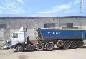 Сцепка, супермаз+ Тонар 28м3, Самосвалы