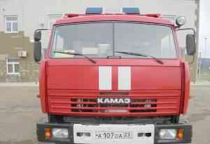 Пожарный камаз ац-5-40