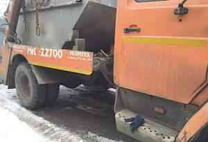 ЗИЛ мкс-22700 Бункеровоз