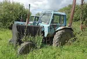 Трактор мтз-80 и трактор Т-40