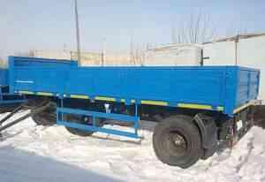Прицеп бортовой сзап-8357-02/030