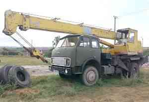 Автокран кс3577, маз 500